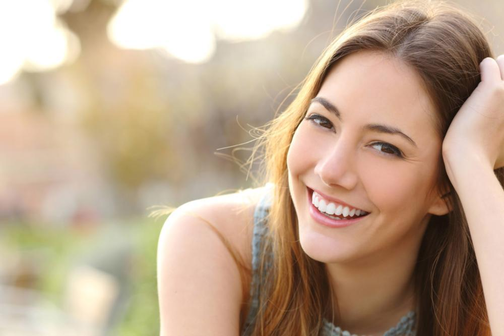 Woman smiling | Dentist Edina MN