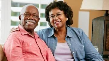 older couple smiling | Edina MN