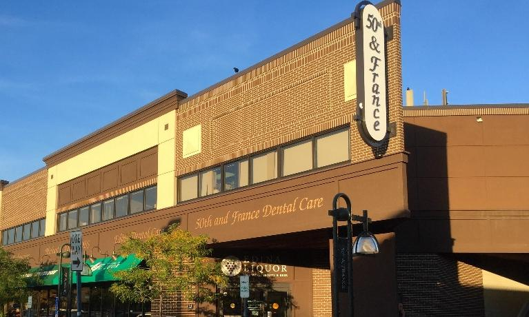 image of 50th & France Dental Care office building
